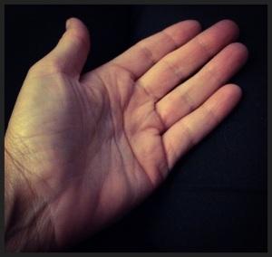 Janis's open hand
