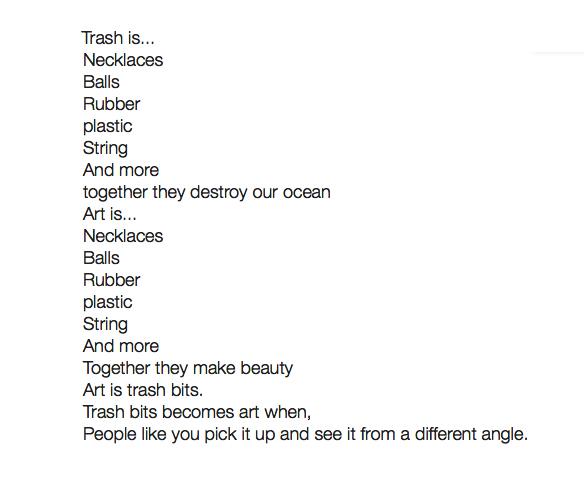 trash is