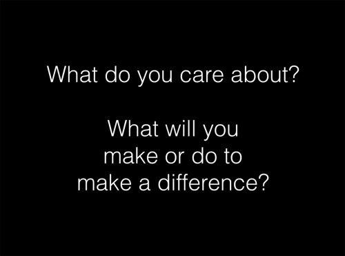 what do you care about